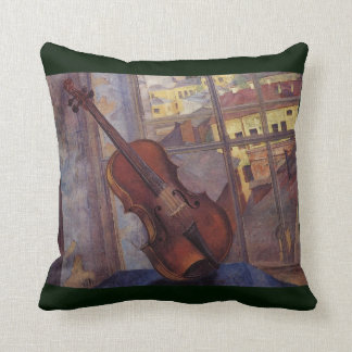 Violin 1918 ~ Symbolism ~Kuzma Petrov-Vodkin Throw Pillow