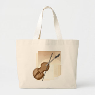 Violín 2 bolsa de mano