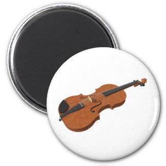Violin: 3D Model: 2 Inch Round Magnet