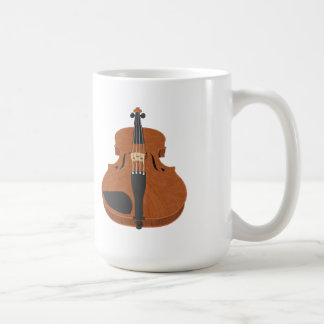 Violin: 3D Model: Coffee Mug