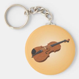 Violin 3D Model Keychain