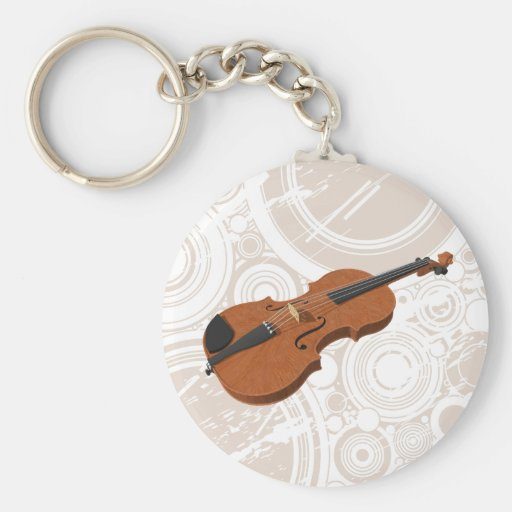 Violin: 3D Model: Keychain