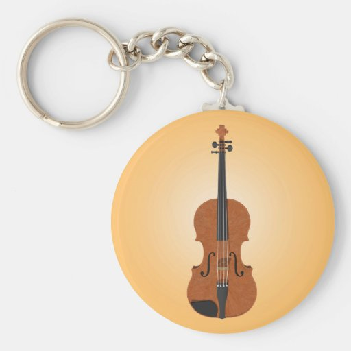 Violin: 3D Model: Keychain