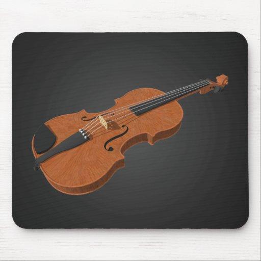 Violin: 3D Model: Mousepad