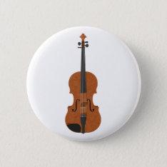 Violin: 3d Model: Pinback Button at Zazzle
