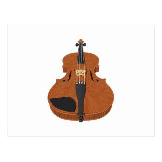 Violin: 3D Model: Postcard