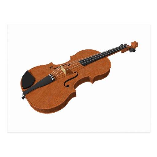Violin: 3D Model: Postcards