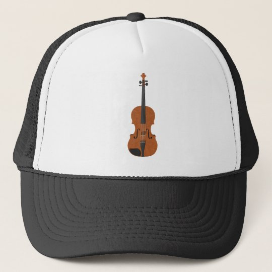 Violin: 3D Model: Trucker Hat
