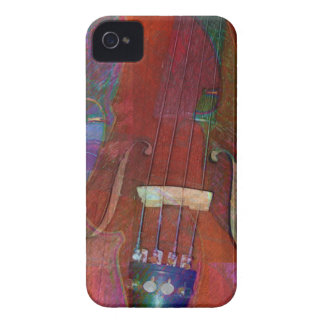 Violin Abstract Two iPhone 4 Case