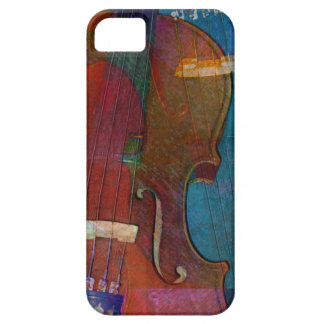 Violin Abstract Two iPhone 5 Cover