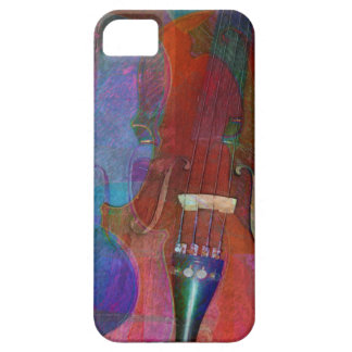 Violin Abstract Two iPhone 5 Covers