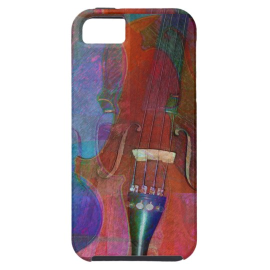 Violin Abstract Two iPhone SE/5/5s Case