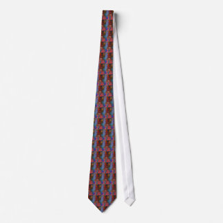 Violin Abstract Two Neck Tie