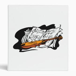 violin accent music jar still life.png 3 ring binder