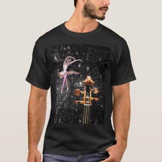Violin and Ballet Dancer T-Shirt
