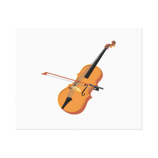 violin and blow reaslitc graphic.png canvas print