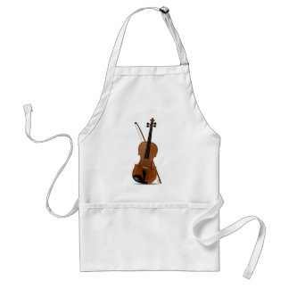 Violin and Bow Adult Apron