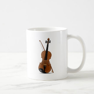 Violin and Bow Coffee Mug