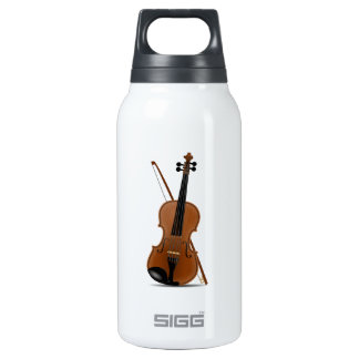 Violin and Bow Insulated Water Bottle