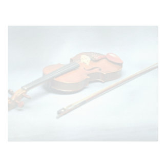 Violin and bow letterhead