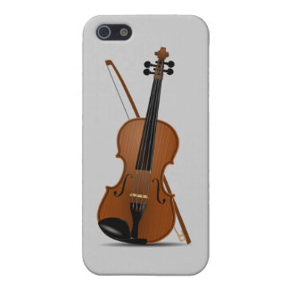 Violin and Bow Music Instrument Pick Color iPhone SE/5/5s Cover