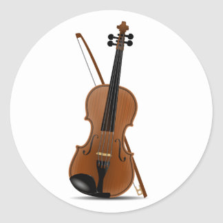 Violin and Bow Stickers
