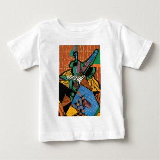 Violin and Checkerboard Baby T-Shirt