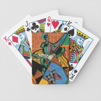 Violin and Checkerboard by Juan Gris Bicycle Playing Cards
