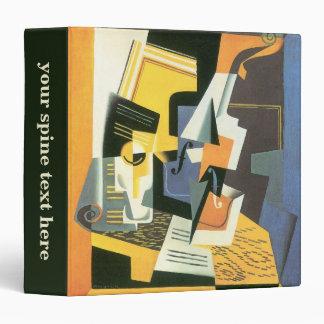 Violin and Glass by Juan Gris, Vintage Cubism Binder