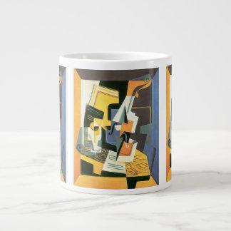 Violin and Glass by Juan Gris, Vintage Cubism Giant Coffee Mug