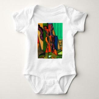 Violin and Guitar by Juan Gris Baby Bodysuit