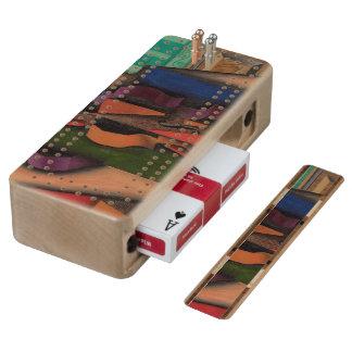 Violin and Guitar by Juan Gris Cribbage Board