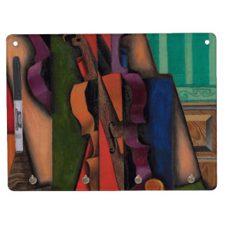 Violin and Guitar by Juan Gris Dry Erase Board With Keychain Holder