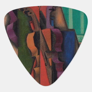 Violin and Guitar by Juan Gris Guitar Pick