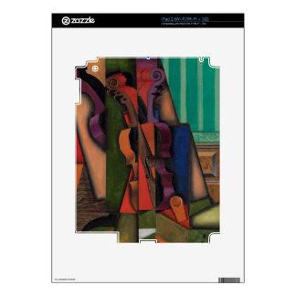 Violin and Guitar by Juan Gris iPad 2 Skins