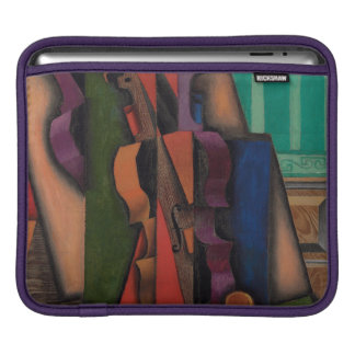 Violin and Guitar by Juan Gris iPad Sleeve