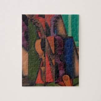Violin and Guitar by Juan Gris Jigsaw Puzzle
