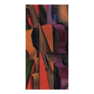 Violin and Guitar by Juan Gris Picture Card