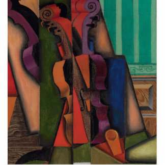 Violin and Guitar by Juan Gris Standing Photo Sculpture