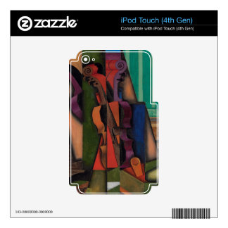 Violin and Guitar by Juan Gris Skin For iPod Touch 4G