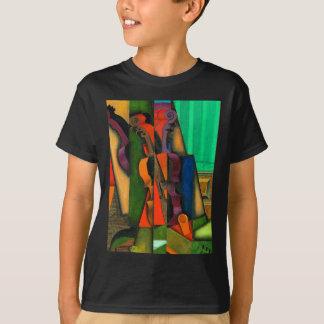 Violin and Guitar by Juan Gris T-Shirt