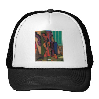 Violin and Guitar by Juan Gris Trucker Hat