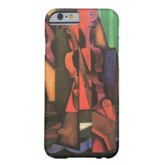 Violin and Guitar by Juan Gris, Vintage Cubism iPhone 6 Case