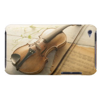 Violin and Sheet Music Barely There iPod Cover