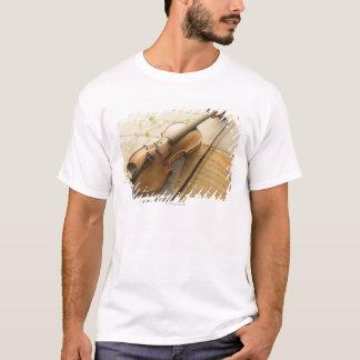 Violin and Sheet Music T-Shirt