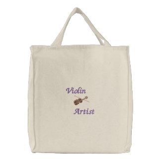 Violin Artist Embroidered Bag for Violinist