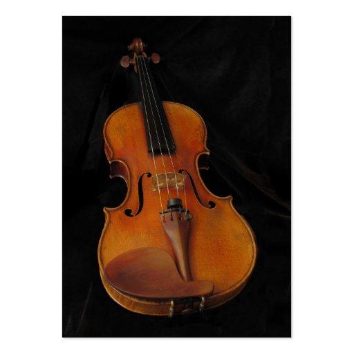 Violin ATC Business Card Templates