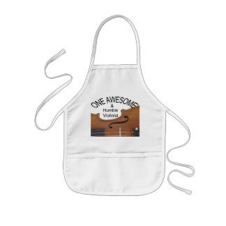 Violin Awesome and Humble Apron