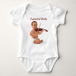 Violin Baby Baby Bodysuit