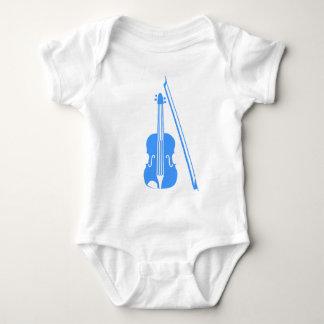 Violin - Baby Blue Baby Bodysuit